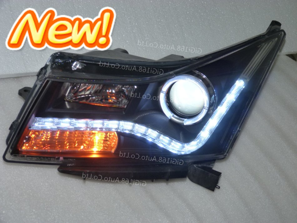 UPGRADE good for your!2012 HOT!for 09 CRUZE Audi A8 UPGRADE Style HID xenon LED v2 headlight/headlamp Assemblyangel eyes halo(China (Mainland))