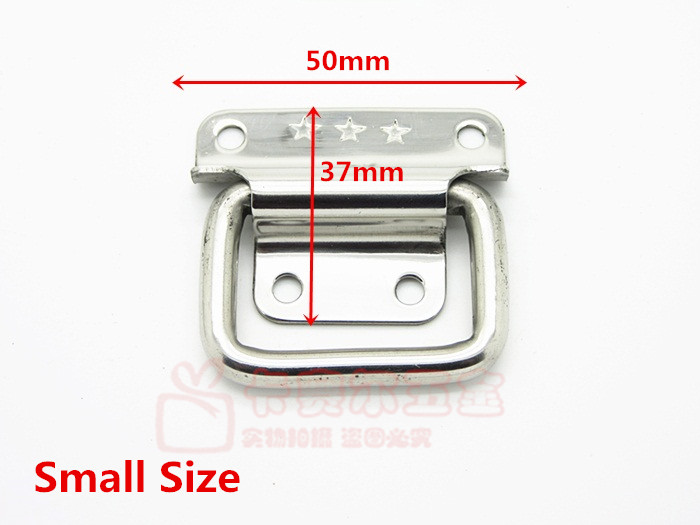 Stainless Steel Tool Box Knobs Handle For Suitcase Knob Air Box Pull Knobs Luggage Wooden Box Handle(China (Mainland))