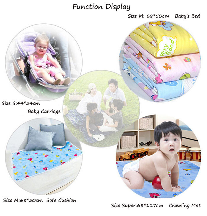 Newborn Changing Pads Mattress Baby Bedding Changing Pad 50×68 34×44 Diapers for Newborns Waterproof Baby Changer Diaper