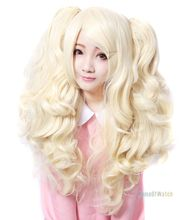 Apricot Ladies Cosplay Wigs Curly Wigs (NWG0CP60958-AP2)(China (Mainland))