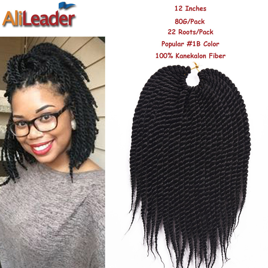 Crochet Hair Packages : ... Hair Extension 22Roots/Pack 80G/Pack 12 Box Braids Crochet Braids