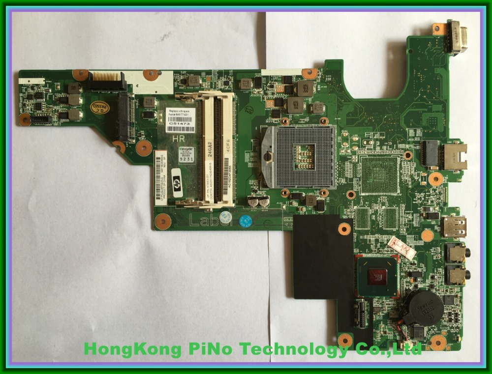 Laptop motherboard 646177-001 For HP 2000 Compaq Presario CQ43 CQ57 Motherboard 646177-001 Tested Good(China (Mainland))