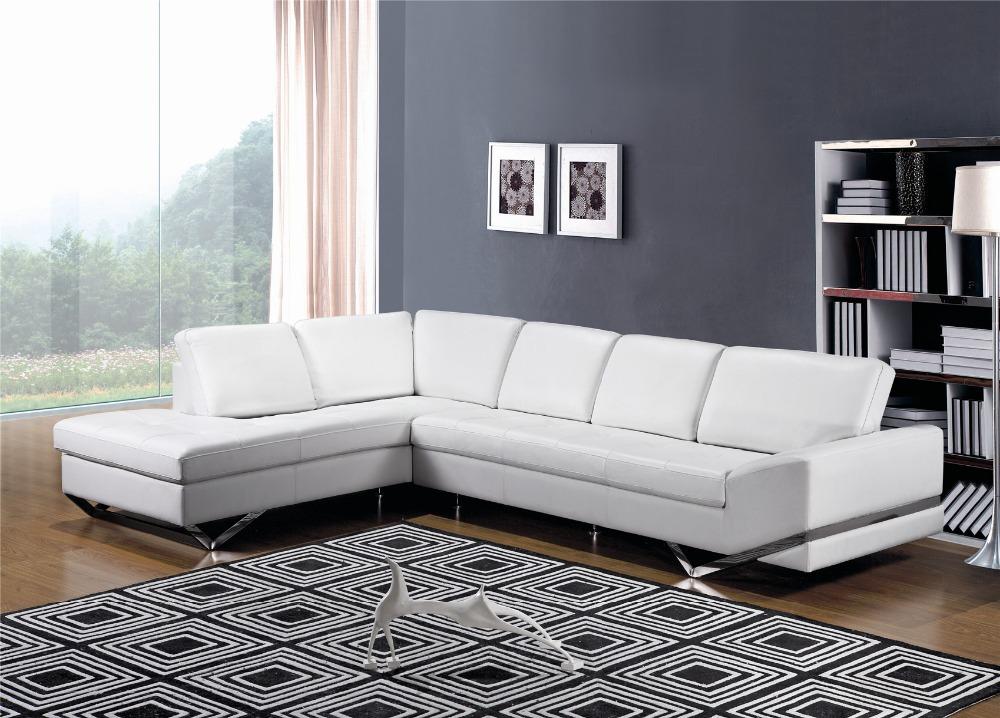 Witte woonkamer sets : Moderne witte sofa woonkamer meubels sofa ...