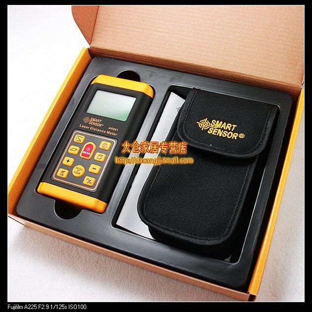 5pcs/lot New Laser Rangefinder Range Finder AR861 Laser Distance Meter 60 meters range finder<br><br>Aliexpress