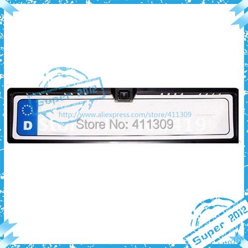 Holiday sale!! EU license plate frame car reversing camera with 170deg free shipping(China (Mainland))