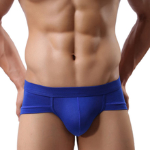 70116 Amazing New Men Sexy Underwear Men's Briefs Soft Underpants 5Colors Free Shipping(China (Mainland))
