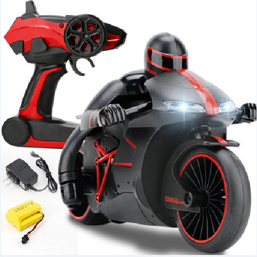 Highest Speed 40KM/H Inclining 30 Degree Flash Light 24*14.5*13CM Red Blue Color RC Motorcycle Remote Control Motorbike(China (Mainland))