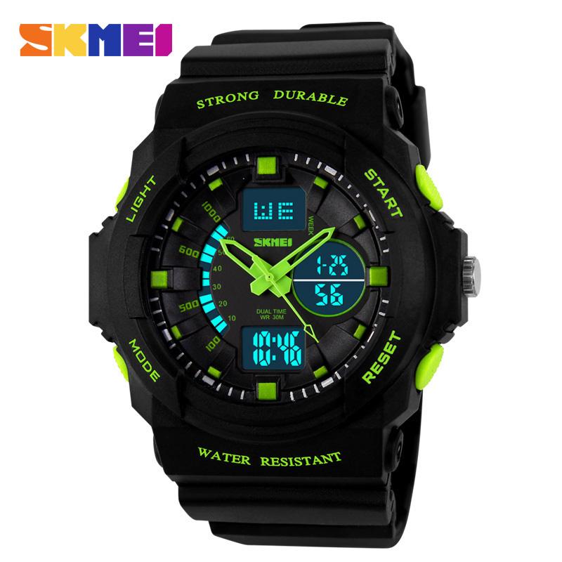 SKMEI Women Quartz Watch Sport Led Digital Watches Fashion Multifunctional Outdoor Wristwatches Reloj Mujer Montre Femme 1008<br><br>Aliexpress
