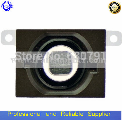 Home Button+Rubber Gasket+Mat for iphone 4S Black/White