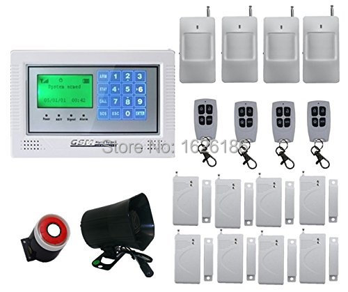 freeshipping DHL  Home security wireless GSM alarm system for Home Security System Auto Dialer PIR Motion Sensor<br><br>Aliexpress