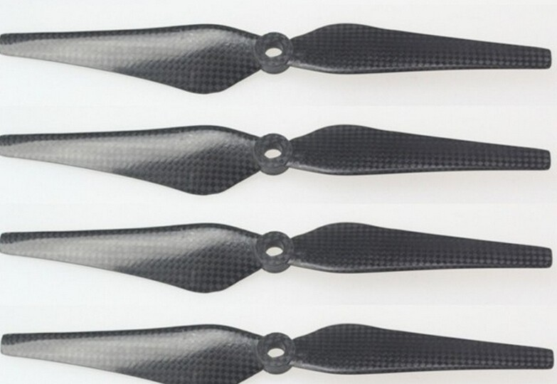 10Pairs/Lot Free shipping 9443 Carbon Fiber Propeller Props Set of 4 CW/CCW DJI Phantom 2 Vision MultiCopter Parts