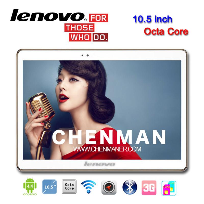 Планшетный ПК Lenovo 10,5 Octa 3G IPS 1280 X 800 2G 32G Tablet PC GSM WCDMA 10 8 10.1 4 G мобильный телефон huawei 3 x pro g750 2 8 5 5 ips mtk6592 13 0mp wcdma