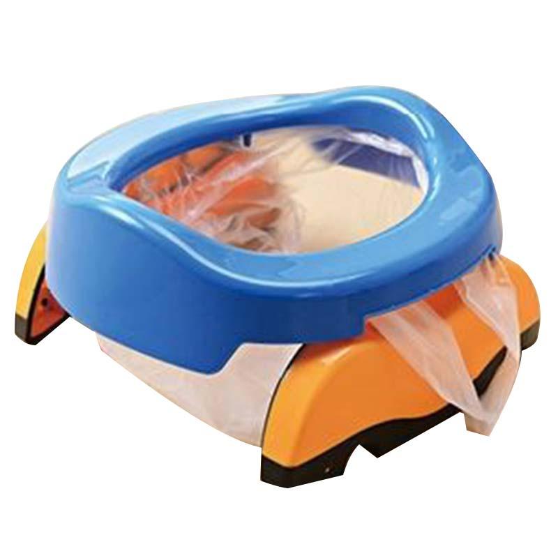 Pot Children's Toilet Kids Potty Folding PP Portable Toilet Travel Car Baby Urinal Child Training Toilet Seat Cadeira Infantil