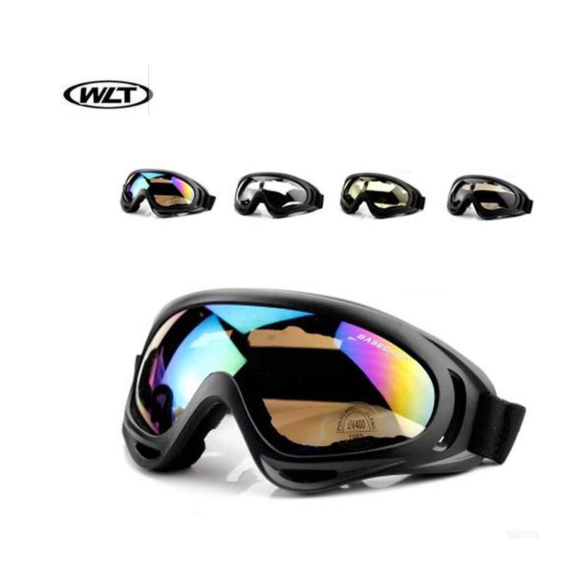 WLT Outdoor Sport Motor glasses Surfing Airsoft Paintba Motocross ATV Dirt Bike Goggles motorcycle Off Road Racing Goggles(China (Mainland))