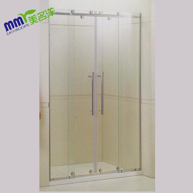 Factory Direct 304 full bath suite shower room off screen / sliding sliding door set(China (Mainland))