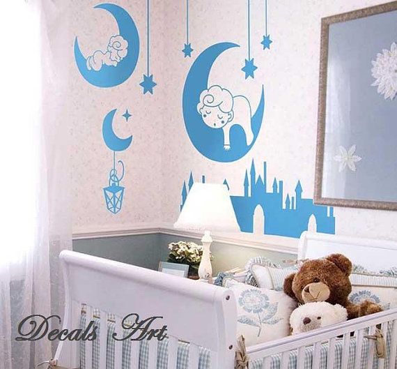 Star wall decor for nursery ~ Color the walls of your house