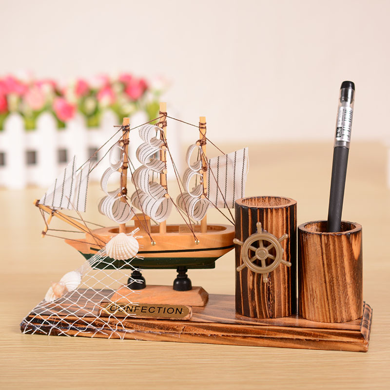 Sailboat model picture more detailed picture about sailing the mediterranean with pen fashion - Wholesale home decor merchandise model ...