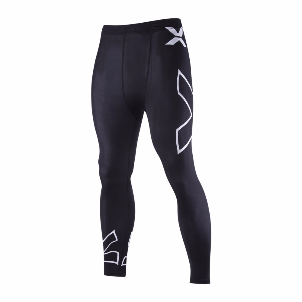 Marque de sportswear Homme Compression Collants Pants X Printed Basketball Running Outdoor Sports Pants(Hong Kong)
