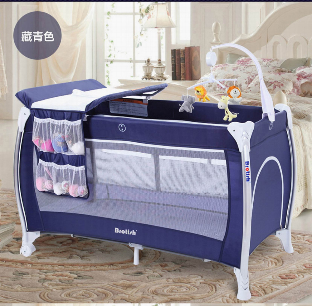 Baby bed multifunctional folding portable game bed baby shaker bb cradle bed comfort station for 0-6 years<br><br>Aliexpress
