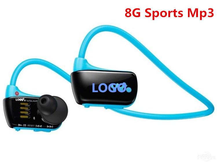 New W273 Sports Mp3 player for sony headset 8GB NWZ-W273 Walkman Running earphone Mp3 player headphone Free shipping(China (Mainland))