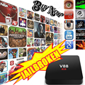 V88 Android 5 1 Smart TV Box Full Loaded Rockchip 3229 1G 8G 4K 2K WiFi