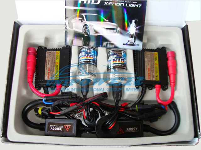 Free shipping and high quality AC 9-16V slim ballast hid conversion kit can choice 3000k, 4300k, 5000k, 6000k, 8000k, 10000k