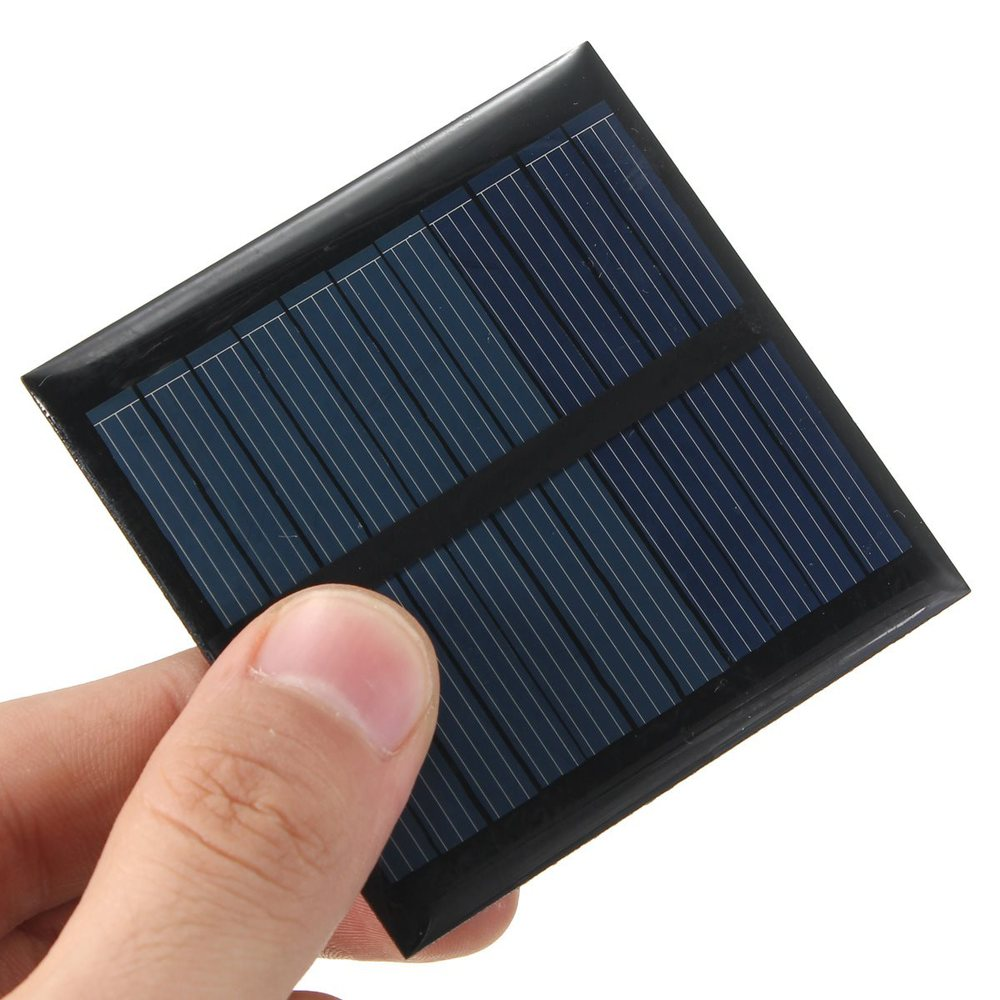High quality 5 5V 0 6W 90mA Mini Portable Polycrystalline silicon Solar Panel Module Fit Cell