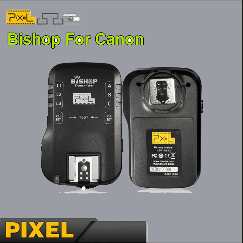 Pixel Bishop Wireless Grouping Speedlite Transmitter And Receiver Flash Trigger Shutter Release Remote Control For Canon DSLR(China (Mainland))