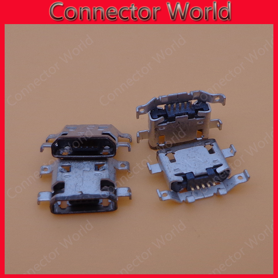 Lot 30pcs New OEM Charging Connector Micro USB Port Dock Connector For Lenovo Ideapad A8-50 A5500 A5500-F(China (Mainland))