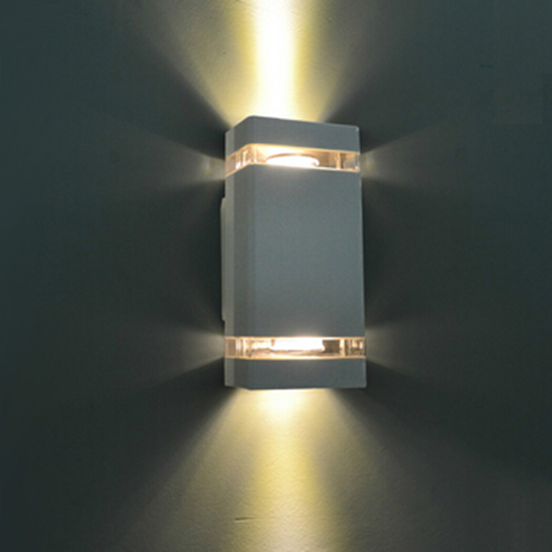led waterproof outdoor modern wall light mounted 8w ac85 265v ip65