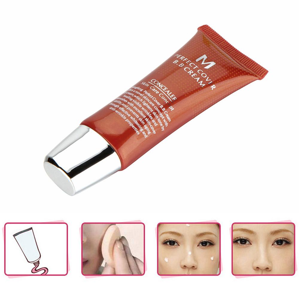 Magic Cover BB Cream Whitening Moisturizing Skin Care Makeup Liquid Foundation Concealer Cosmetic 20ml(China (Mainland))