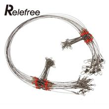 4part/set Brand New Fishing Trace Lure Wire Leader Spinner Swivel Interlock Silver Fishing Tool Useful Sport