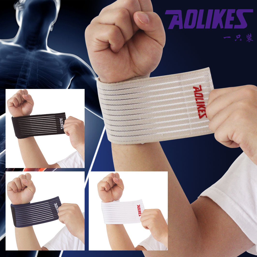fitness cotton strength bandage hand wrist straps sport wristbands support wrist protector carpal tunnel wrist brace ZB-HBK015<br><br>Aliexpress