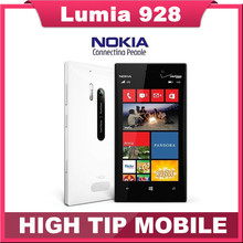 Original Nokia Lumia 928 Unlocked 8.7MP NFC GPS 32GB Dual Core 1.5GHz 4.5 inch Windows OS 3G Cellphone Refurbished(China (Mainland))