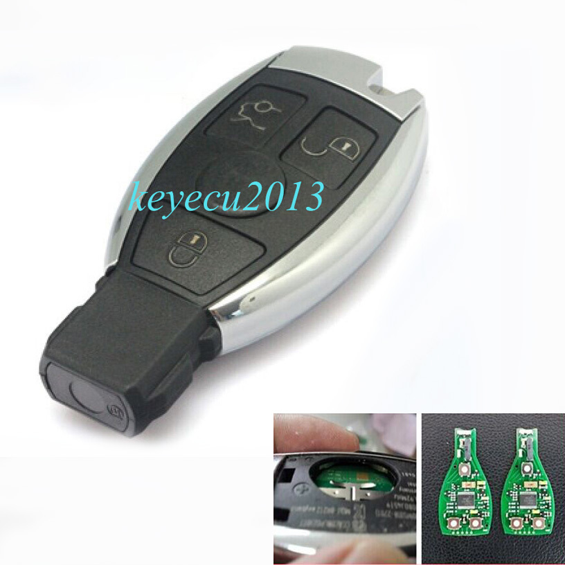 High Quality Keyless Entry OEM Smart 3 Button Remote key With Infrared for Mercedes Benz 315Mhz 2006-2010<br><br>Aliexpress