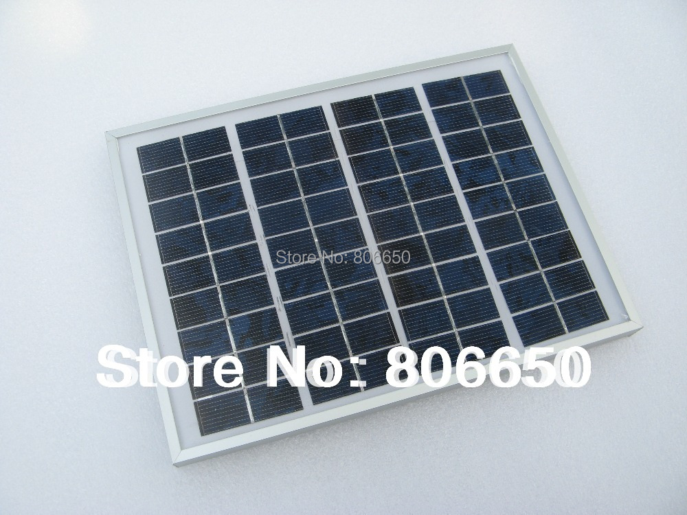 5W 12V solar panel for home use, 12v battery charger , free shipping(China (Mainland))