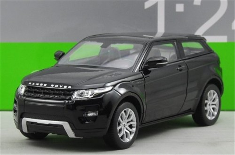 1:24 Welly FX Range Rover Evoque Model Toy Model Diecast Car New Black(China (Mainland))