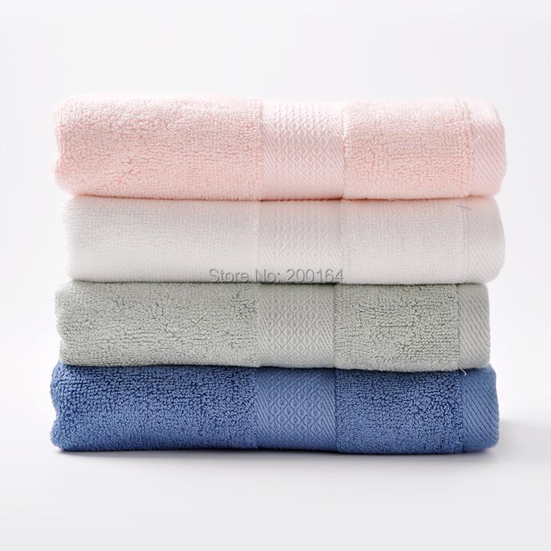 Set De Baño Bambu Dupree:Marca toalla de mano 4 unids/set 34*75 cm toalla de bambú toalla de
