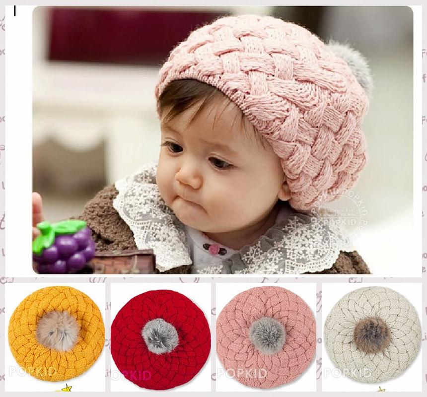 Winter/Spring baby hat, infant kids cap Cotton winter wool cartoon newborn hat children,baby hats for girls/boys H1122(China (Mainland))
