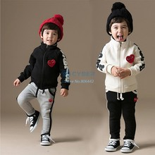 2014 Hot Sell Baby Children Boys Clothing Suit Conjunto De Roupa Kids Clothes Conjuntos Meninas Vestir Sets For Boys#16 SV007669(China (Mainland))