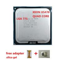 new arrive Xeon X5470 CPU free gift For Xeon X5470 CPU processor /3.3GHz /LGA771/12MB L2 Cache/Quad Core/ server CPU