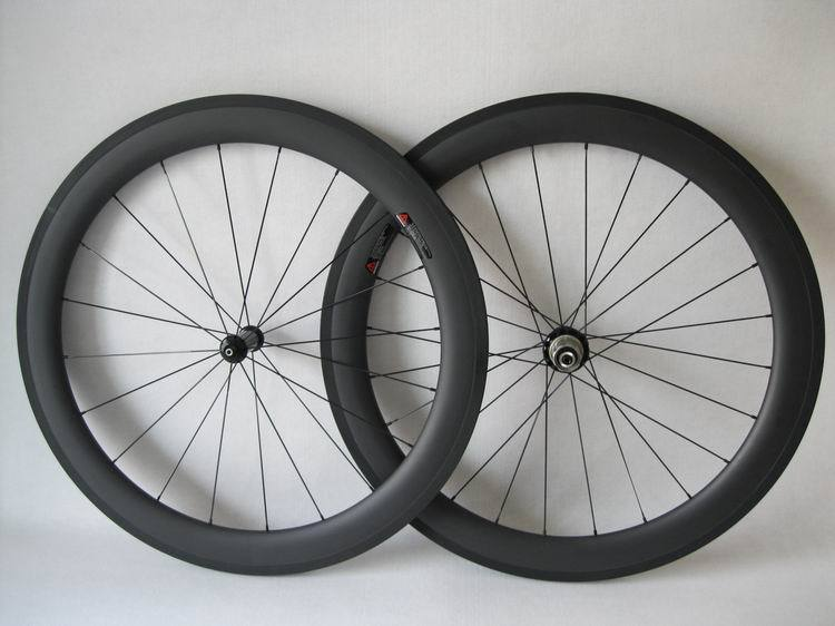 Free shipping straight pull bike wheelset 23mm width 60mm tubular bicycle wheels with powerway R36 carbon hub(China (Mainland))