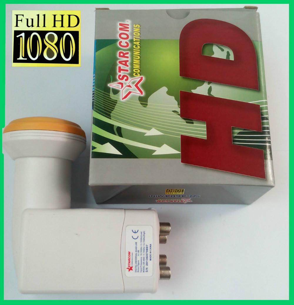 STARCOM UNIVERSAL QUAD LNB KU MPEG4 1080P FULL HD(China (Mainland))