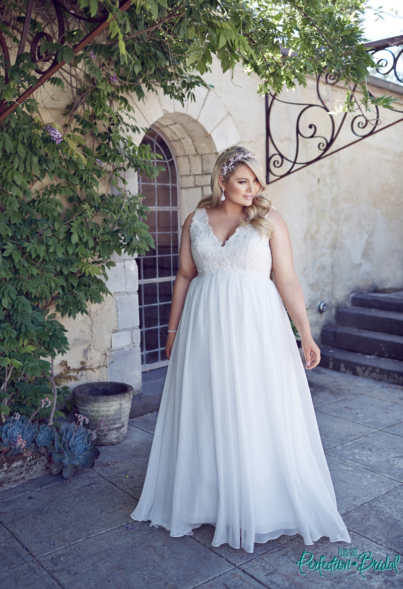 Full figure wedding dress promotion shop for promotional for Full size wedding dresses