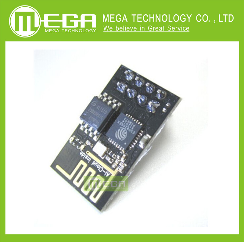 !!!10pcs ESP8266 remote serial Port WIFI wireless module through walls Wang, with tracking number ( ESP-01 )(China (Mainland))