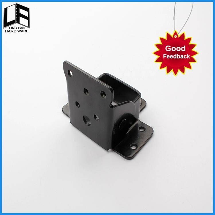 Manufacturer Supply furniture hardware folding leg brackets,cast iron leg lock hinge(China (Mainland))