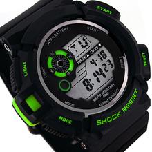 Новый роскошный бренд мужской военная мода водонепроницаемый из светодиодов цифровой дата спортивные наручные часы наручные часы 75J3