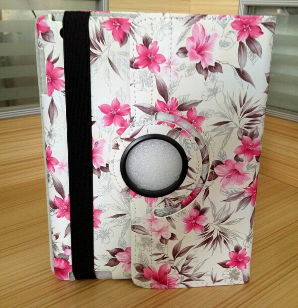 Top quality 360 full revolve smart case for Ipad air flip leather cover azalea floral funda for Apple Ipad5 A1474 A1475 A1476<br><br>Aliexpress