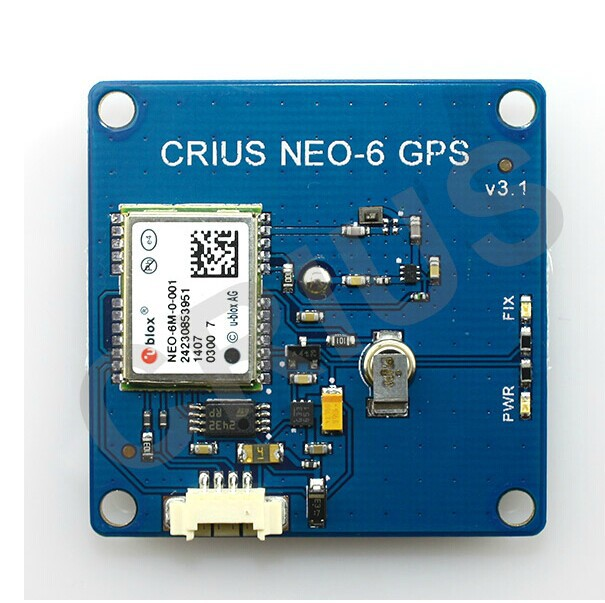 CRIUS Latest NEO-6 V3.1GPS NEO-6M Module for APM MWC Pirot Rabbit Flight Controller<br><br>Aliexpress