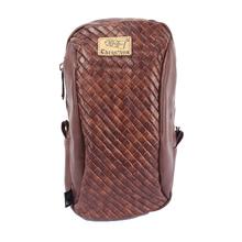 New Leisure Man Waist Packs font b Tartan b font PU Leather Men Shoulder Bag Durable